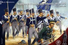 Prussian Napoleonic Line Infantry 1813-1815