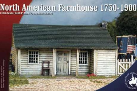 North American Farmhouse 1750-1900