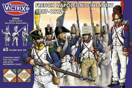 Napoleonic French Line Infantry (60)