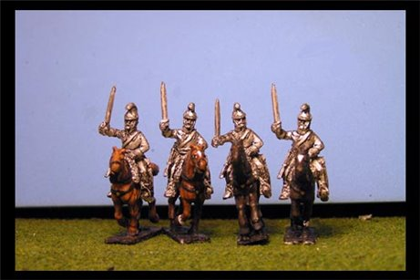 Cuirassiers Charging with Sword