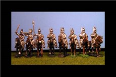 Cuirassier Shoulderd Sword at Rest x 8 with Command
