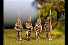 Infantry Marching Stovepipe Shako Flank Co