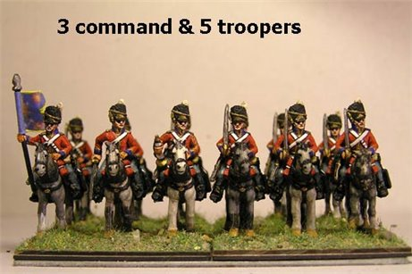 Scots Greys At Rest x 8 with Command