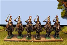 Royal Horse Guards Charging (Household Cavalry) x 4 (3 variants)