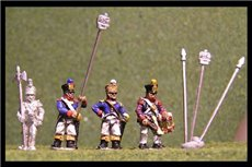 Line Infantry Command Standing