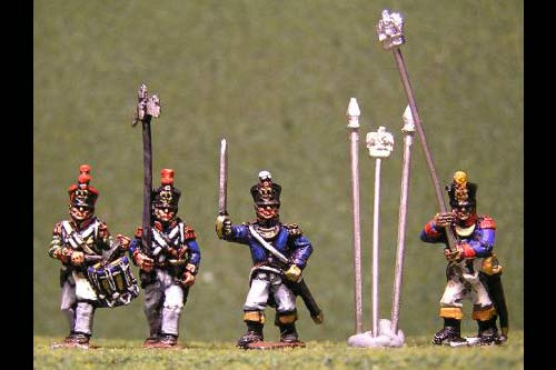 Line Infantry Command Marching
