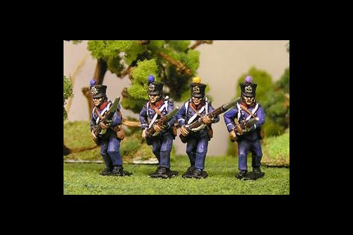 Chasseurs Advancing Low Port