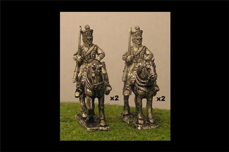 Chasseurs a Cheval Shouldered Sword (x4)