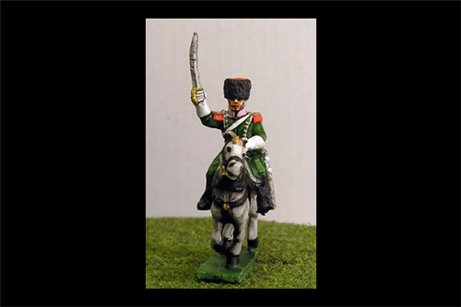 Officer of Elite Company in Colback Chasseurs a Cheval (x2)