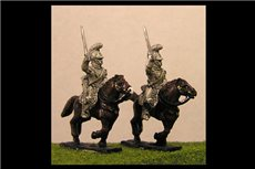 French Carabiniers Charging 2 (x4)