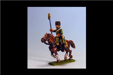 Chasseurs a Cheval de la Guard Eagle Bearer Campaign Dress x 2 figs