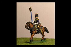 Grenadiers a Cheval Eagle Bearer x 2 figs