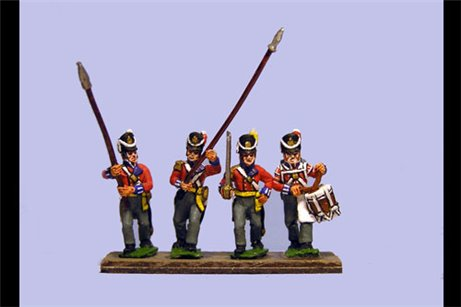 Hanover Line Command Marching Belgic Shako