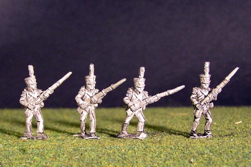 2nd Rgt Voltigeurs Advancing Plume & Epaulettes. (3 variantes)