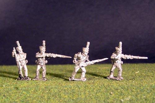 2nd Rgt Voltigeurs Skirmish/Firing Line Plume & Epaulette.
