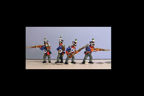 Orange Nassau Marching (32 figures, 12 fusiliers, 7 elites including sergent & 5 command)