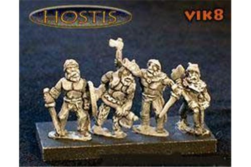 Viking Berserker (8 figures per pack)