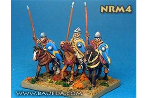 Norman Light Cavalry      (4 mtd. Figures)