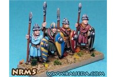 Norman Spearmen (8 foot Figures)