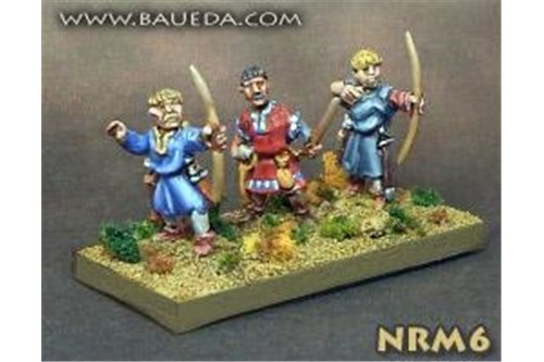 Norman Archers (8 foot Figures)