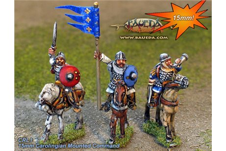 Carolingian mounted command   (4 mtd. Figures)