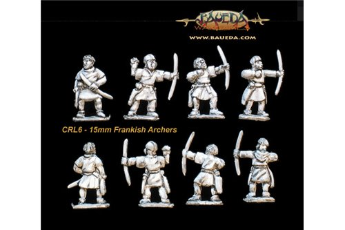 Frankish archers (8 foot Figures)