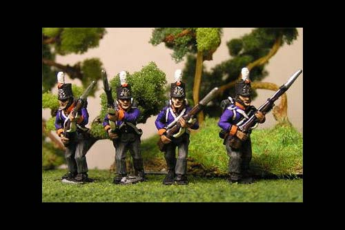 Netherlands Militia Advancing Centre Company