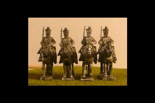 5th Belgian Light Dragoons at Rest