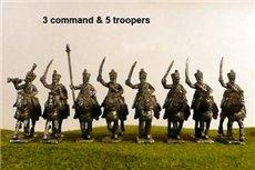 6th Dutch Hussars Charging
