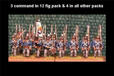 Belgian March Attack/Marching 12 figs