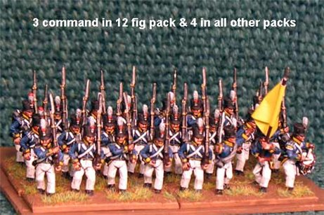 Dutch March Attack/Marching 12 figs