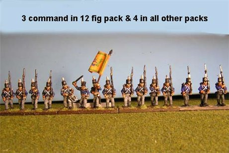 Netherlands Militia March Attack/Marching 12 figs