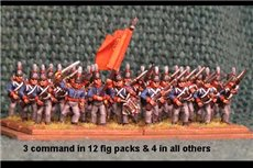 Netherlands Militia Advancing 12 figs