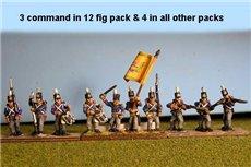 Netherlands Militia Firing Line 12 figs
