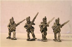 British / KGL Line Infantry Advancing Belgic Shako 12 figs