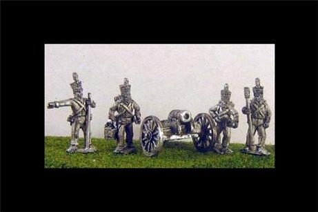 Dutch/Belgian Battery with British Howitzer x 2 & 8 Foot artillery crew