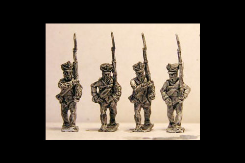 Musketeers / Jagers Marching ( 4 variants)
