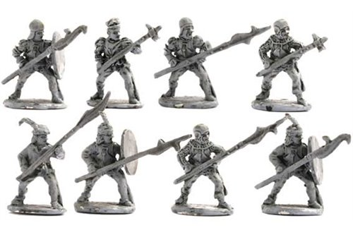 Swiss alberdiers with alberd pointed forward (6 different positions)