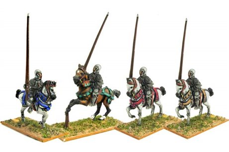 Light cavalrymen with Sallet.