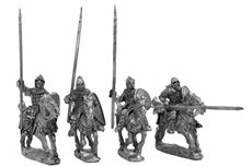 Russian cavalry 1240 - 1350, charging