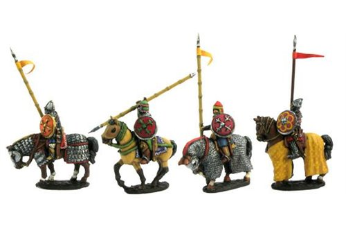 Heavy Cavalry, Ghulam or Mamelukes, walking horses (4 variants)