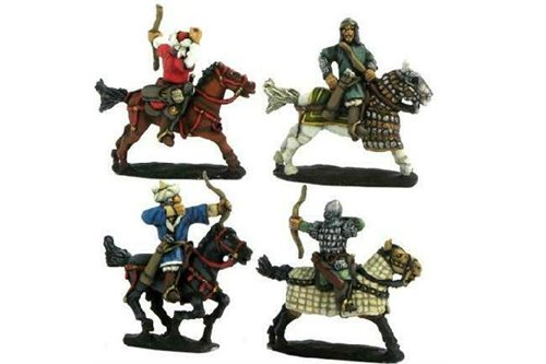 Light cavalry, bow ( 4 variants)