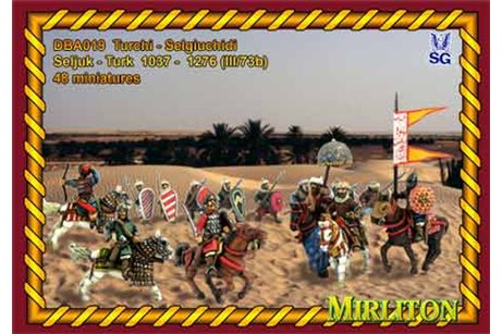 Seljuk - Turk 1037 - 1276 (III/73b) (31 mounted miniatures and 20 foot soldiers)