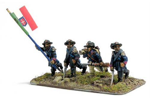 Bersaglieri command group