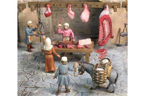 The Medieval seller of beef.