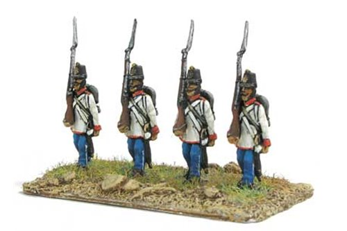 Austrian Grenadiers marching