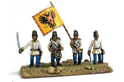 Hungarian infantry command