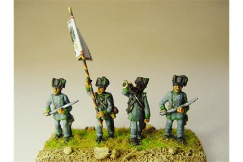 Austrian Jaeger command group