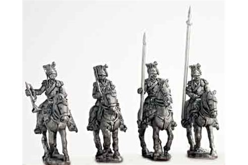 Ulan command group, walking (4 variants).
