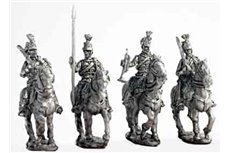 Hussar command group walking (4 variants)